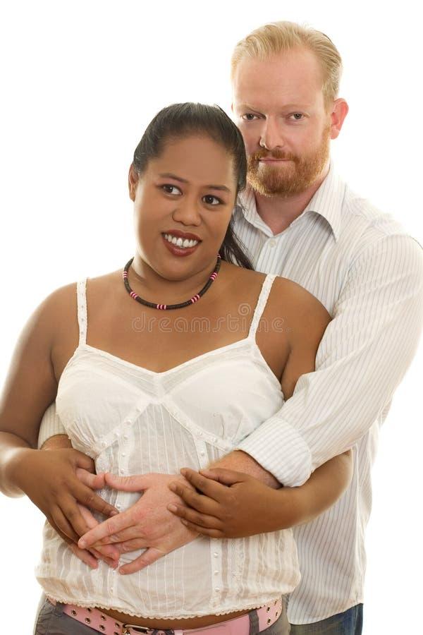 Diversité de couples photos stock