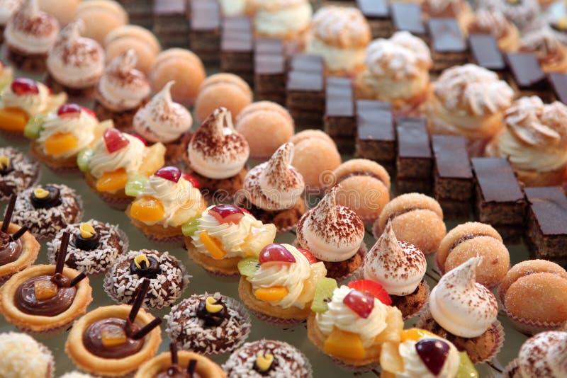 Diversité de pâtisserie photos stock