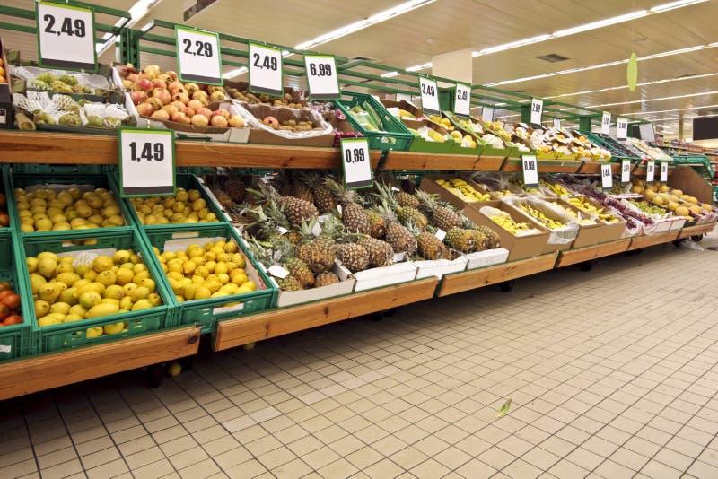Diversité des fruits photographie stock