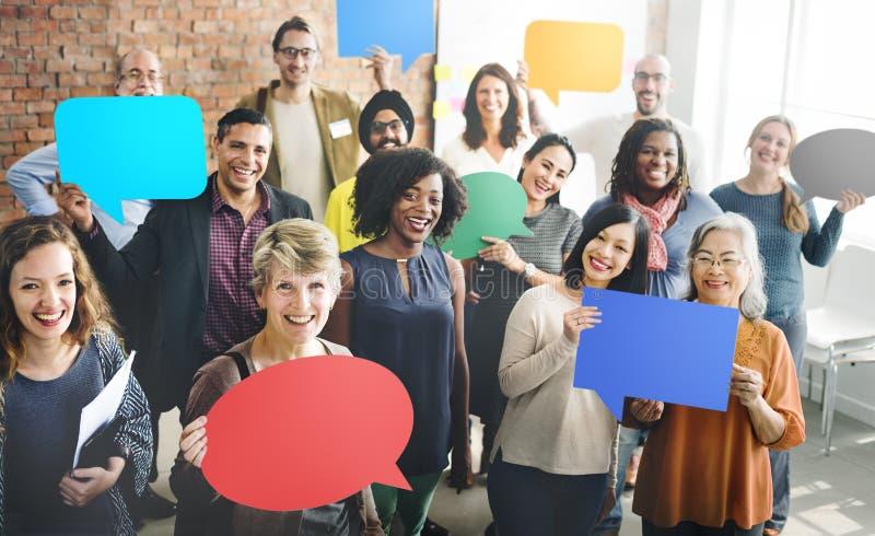 Diversité Team Community Group de concept de personnes image stock