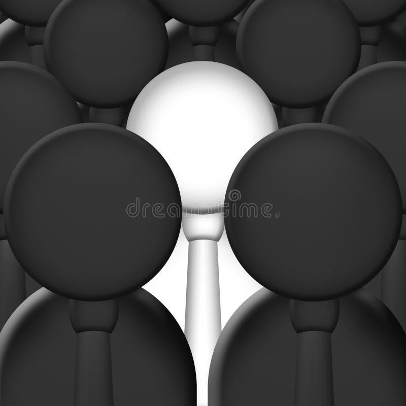Diversiteit royalty-vrije illustratie