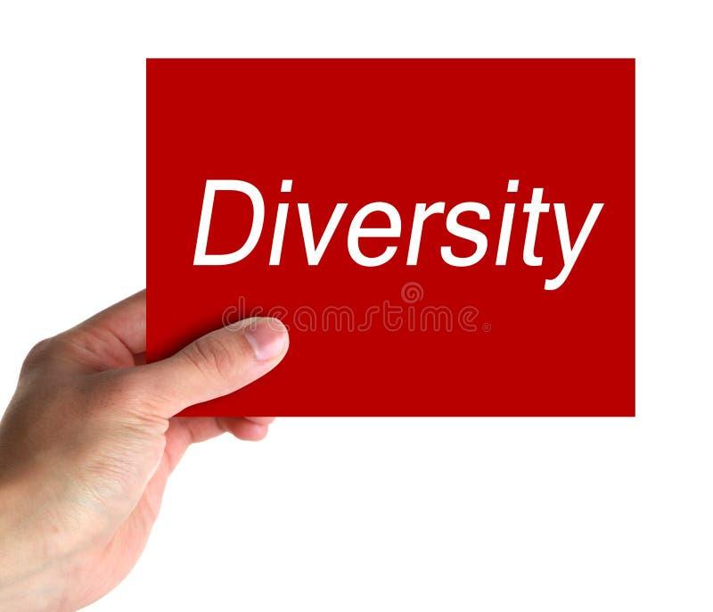 Diversiteit royalty-vrije stock afbeelding