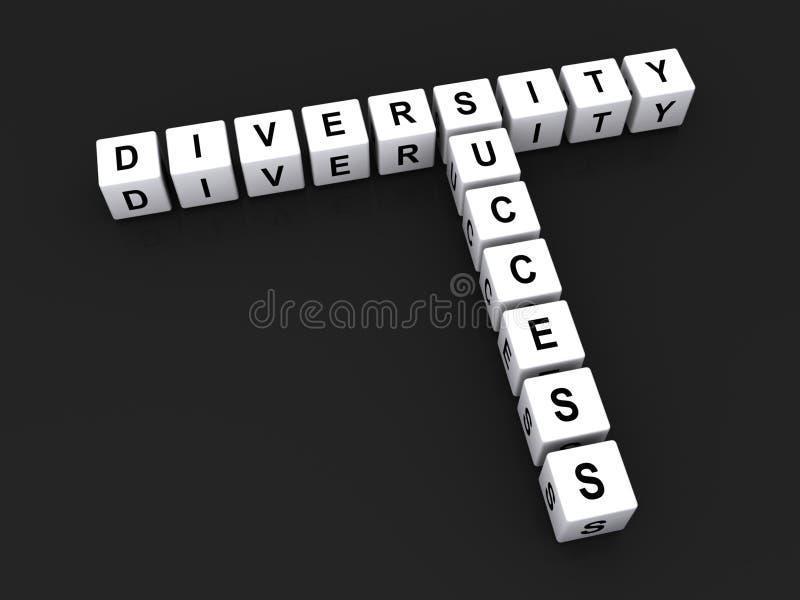 Diversiteit en succes royalty-vrije stock foto's