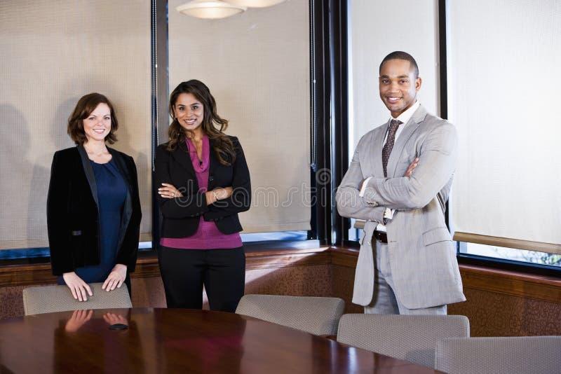 Diversiteit in werkplaats, bestuurskamervergadering royalty-vrije stock afbeelding