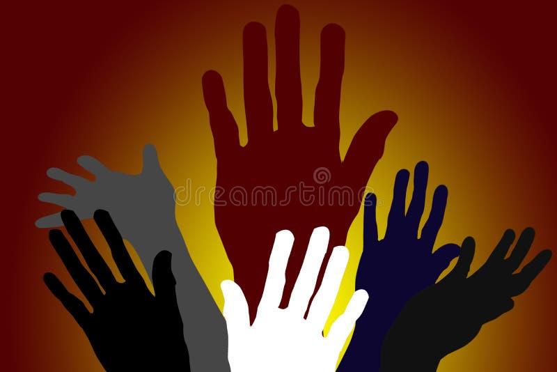 diversiteits Handen