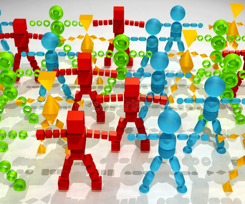 Download Diversity stock illustration. Illustration of greeting - 203122