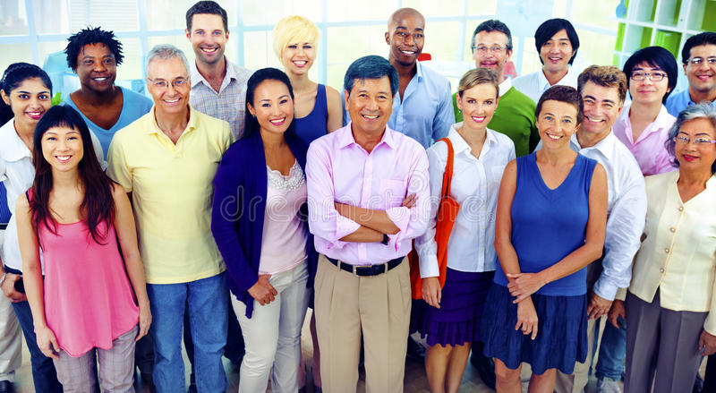 Diversity Business Collaboration Partnership Teamwork Concept royalty free stock photos