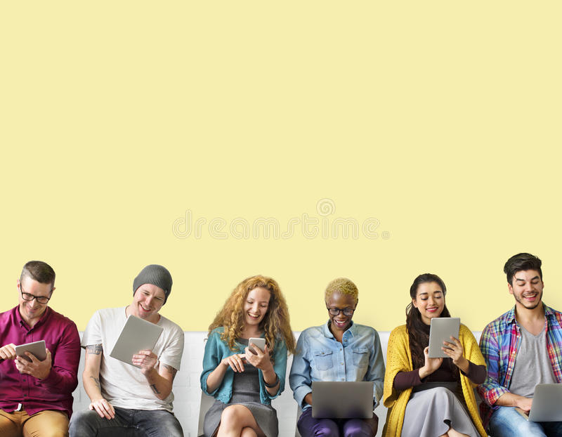 Diversity Friends Connection Global Communication Concept royalty free stock photo
