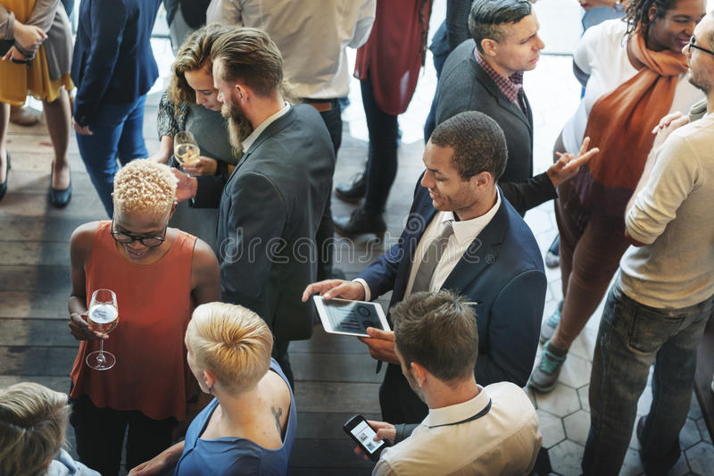 Diversity Friends Meeting Community Discussion Concept stock image