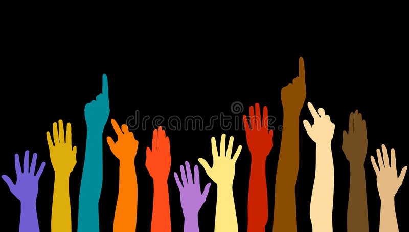 Diversity Hands Royalty Free Stock Image