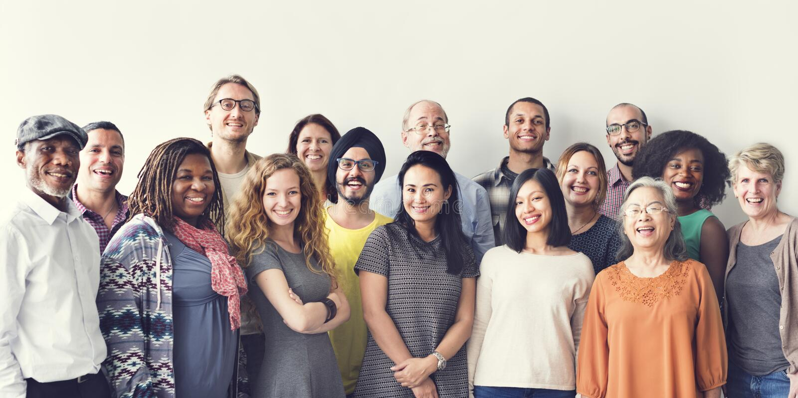 Diversity People Group Team Union Concept royalty free stock photo