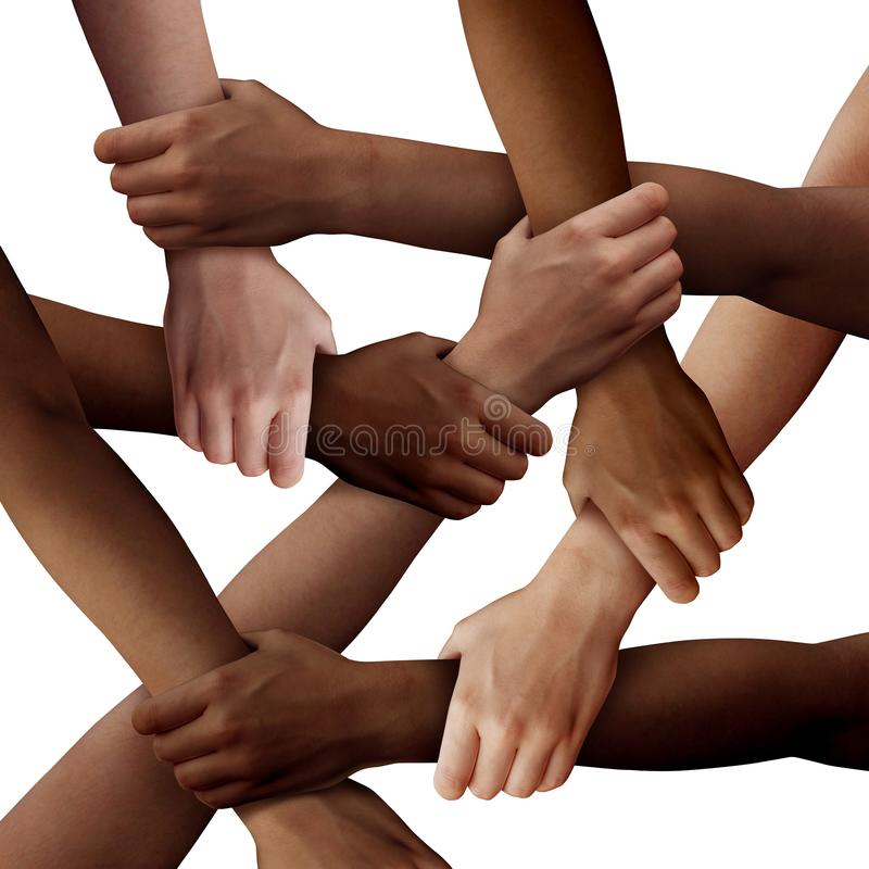Free Diversity Teamwork Multicultural People Together Royalty Free Stock Photos - 121437478