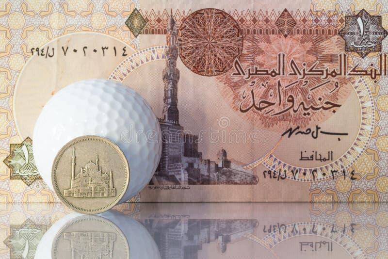 Diverso dinero de Egipto imagen de archivo libre de regalías
