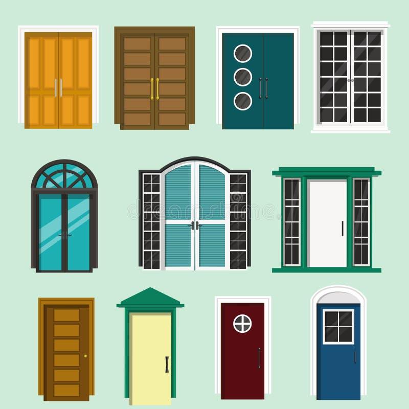 Diverso dise o de la puerta principal para las casas y el for Diseno puerta principal