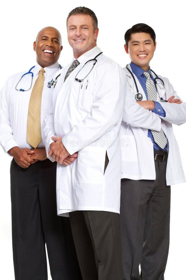 Diverso gruppo di fornitori di cure mediche immagini stock