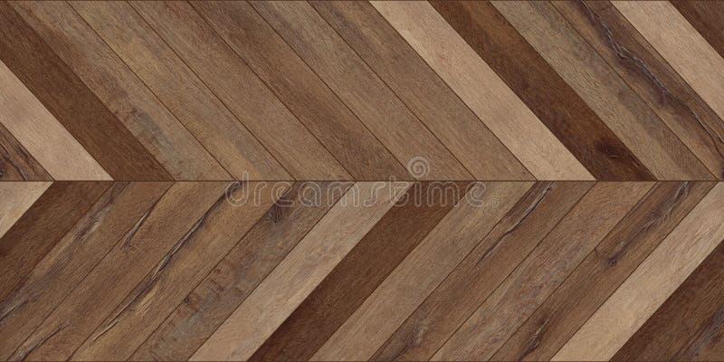 Diverso marrón del entarimado del galón horizontal de madera inconsútil de la textura imágenes de archivo libres de regalías