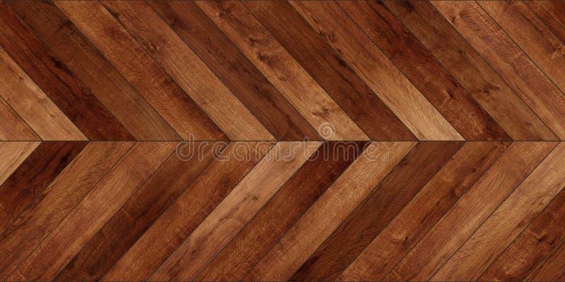 Diverso marrón del entarimado del galón horizontal de madera inconsútil de la textura foto de archivo
