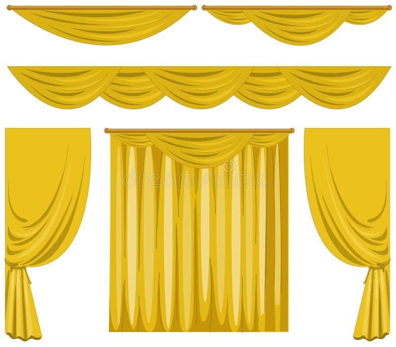 Modelo de cortinas cortina macram modelo rombos lino with for Cortinas amarillas
