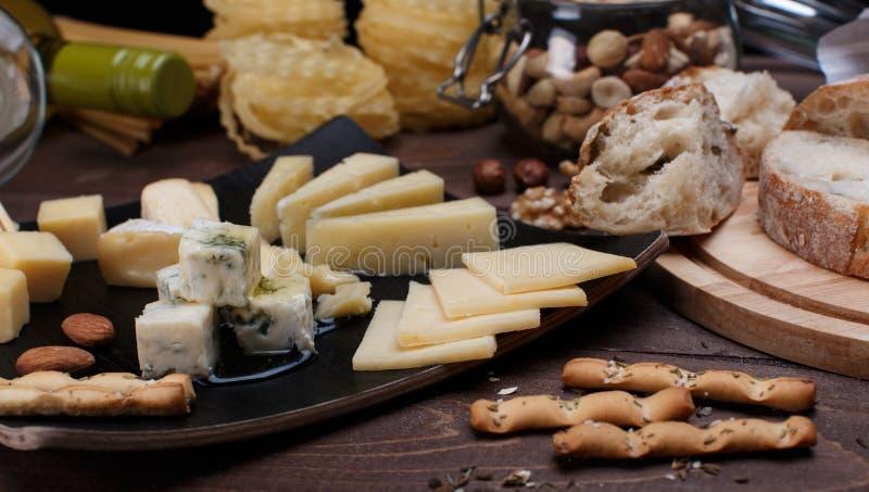 Diverso queso foto de archivo libre de regalías