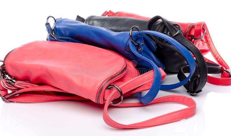 Diversos bolsos coloreados imagen de archivo