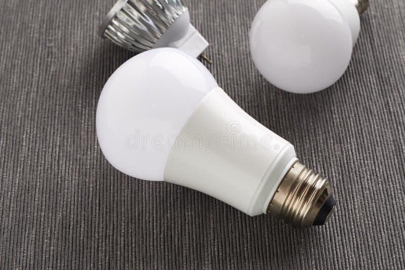 Diversos bulbos del LED foto de archivo libre de regalías