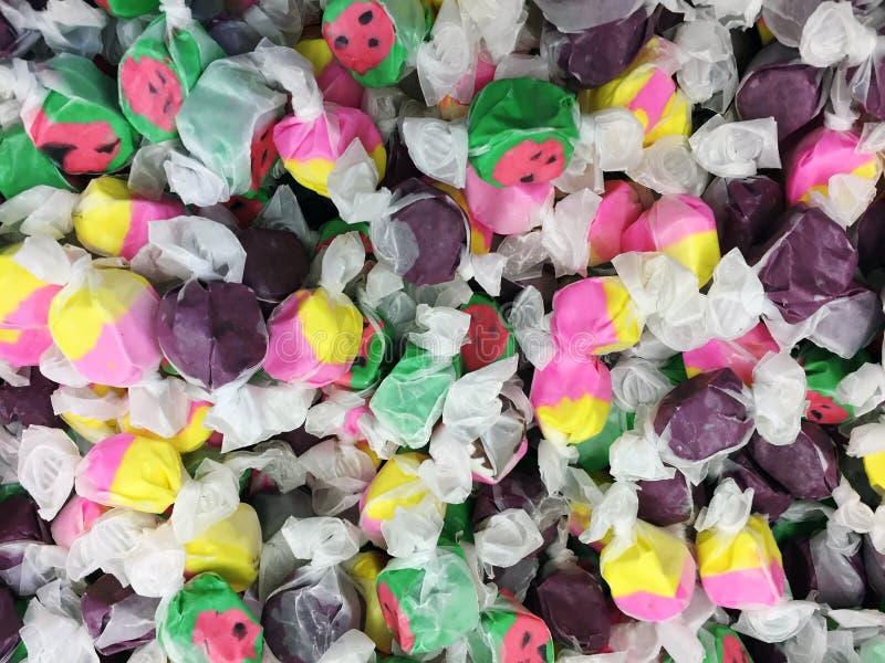 Diversos colores del chicloso del agua salada imagen de archivo libre de regalías