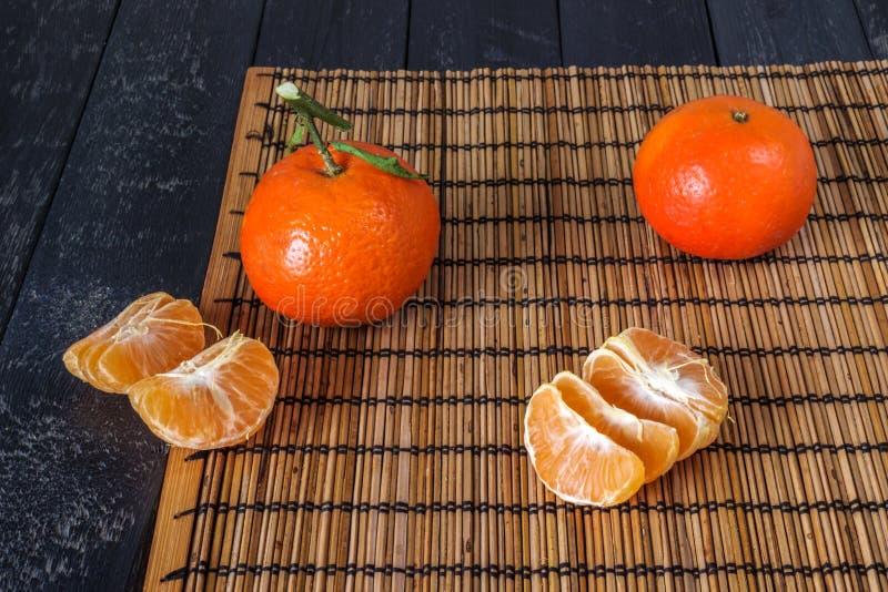 Diversos tangerines imagens de stock royalty free
