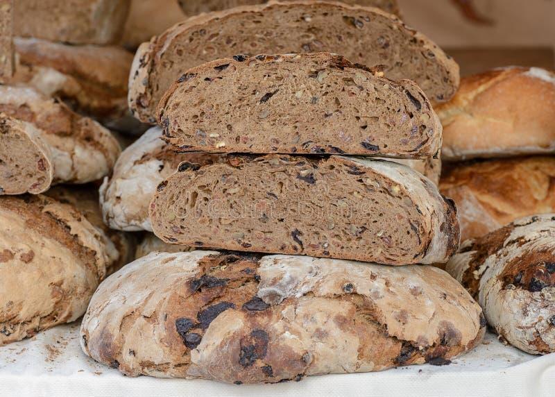 Diversos tipos de primer del pan fotografía de archivo