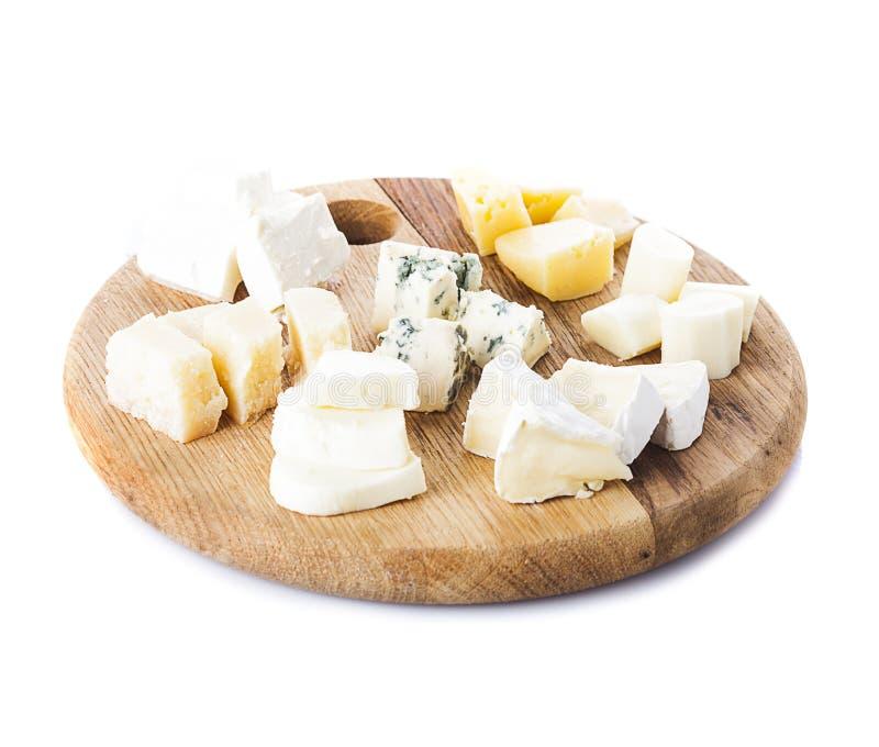 Diversos tipos de queso foto de archivo libre de regalías