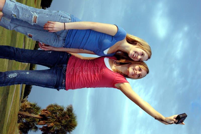 Divertimento adolescente fotografie stock libere da diritti