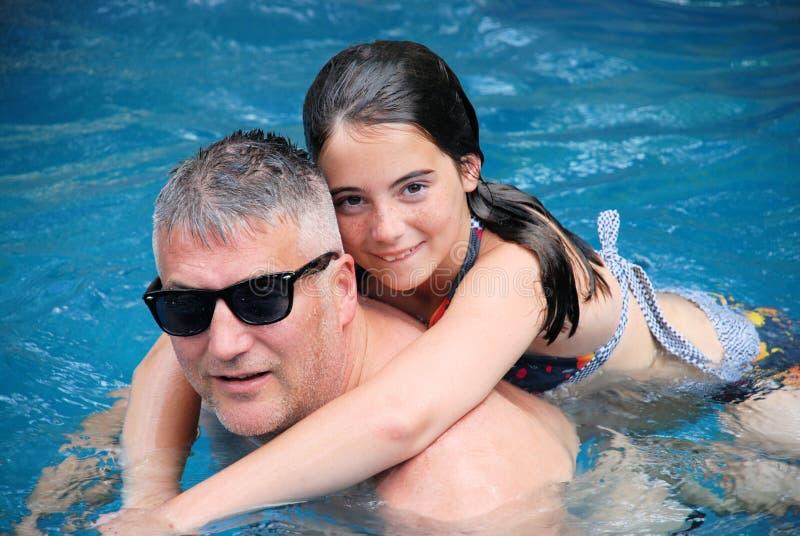 Divertimento Da Família Do Verão Fotografia De Stock