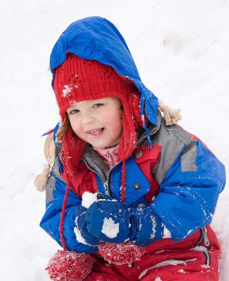 Divertimento da neve fotos de stock royalty free