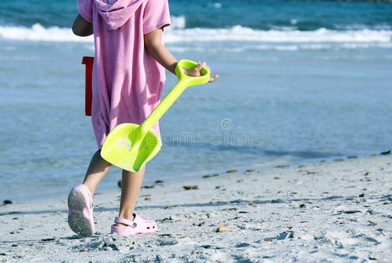 Divertimento da praia fotografia de stock