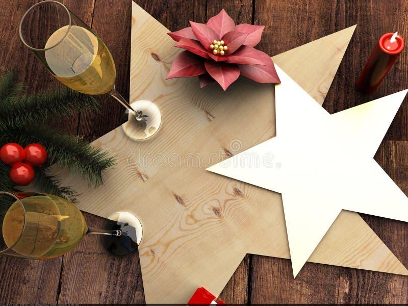 Divertimento de Mary Christmas imagem de stock royalty free