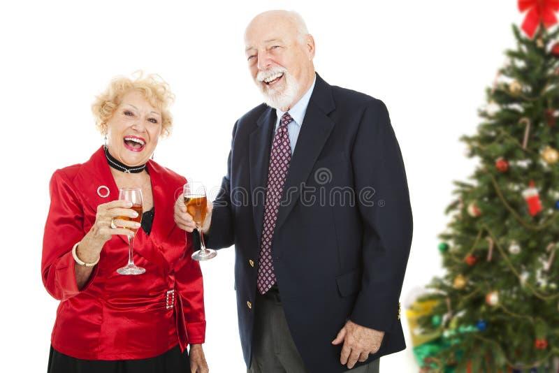 Divertimento della festa di Natale fotografia stock
