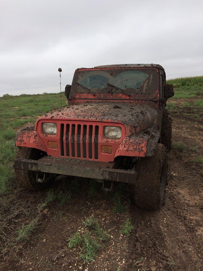 Divertimento della jeep fotografia stock