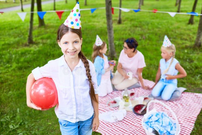 Divertimento di compleanno fotografie stock