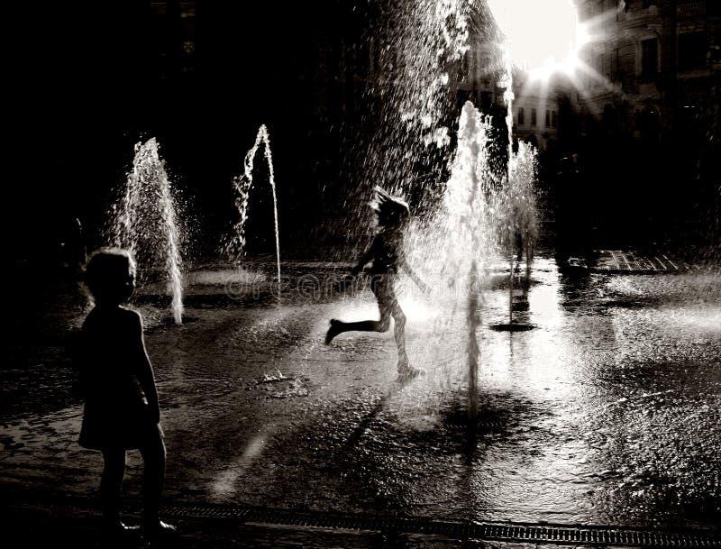 Divertimento di estate fotografie stock libere da diritti