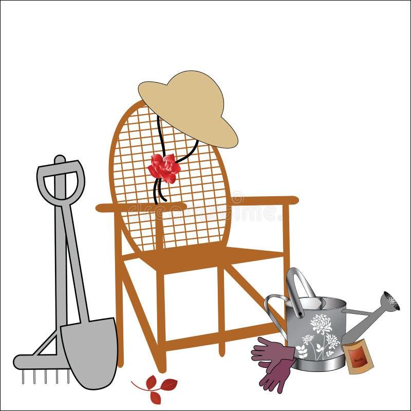 Divertimento di giardinaggio royalty illustrazione gratis