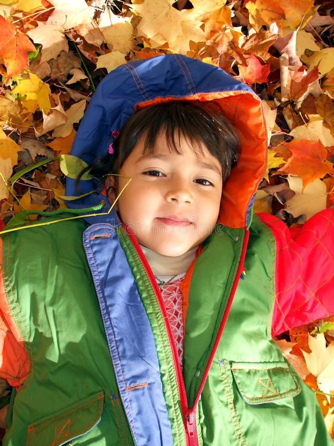 Divertimento do outono fotos de stock