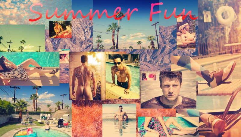 Divertimento do verão fotografia de stock