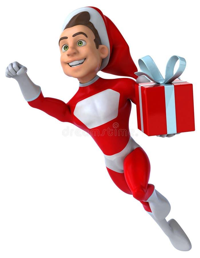 Divertimento il Babbo Natale royalty illustrazione gratis