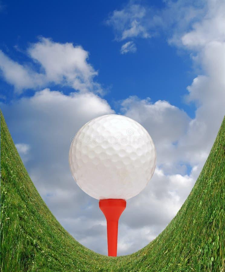 Divertimento nel golf fotografie stock