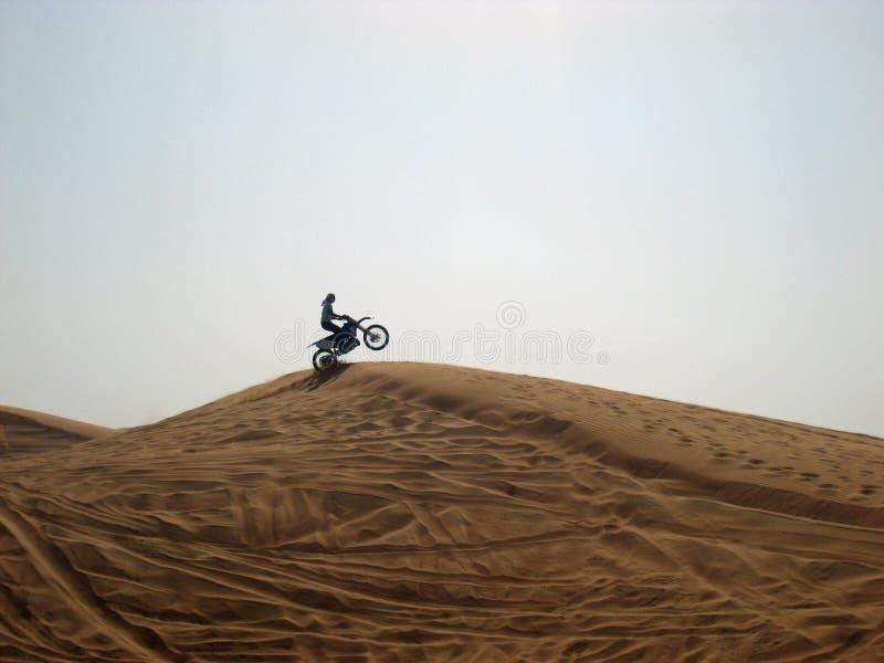 Divertimento no deserto fotografia de stock