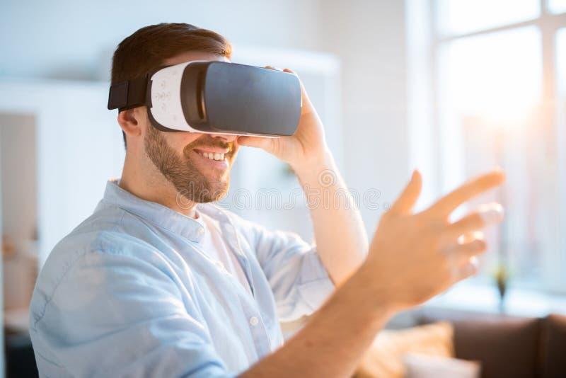 Divertimento virtual imagem de stock royalty free
