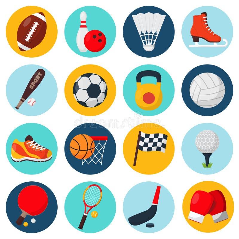 Diviértase los iconos fijados libre illustration