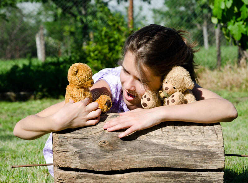 Download Divided opinions stock photo. Image of buddies, bear - 24938702