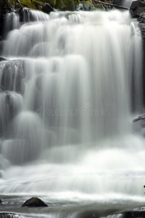 Dividend Falls of Dividend Park in Rocky Hill, Connecticut. Dividend Falls of the Dividend Brook in Dividend Park of Rocky Hill, Connecticut royalty free stock photos