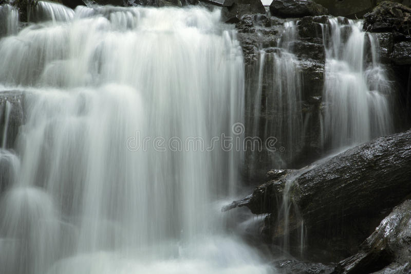 Dividend Falls of Dividend Park in Rocky Hill, Connecticut. Dividend Falls of the Dividend Brook in Dividend Park of Rocky Hill, Connecticut royalty free stock photo