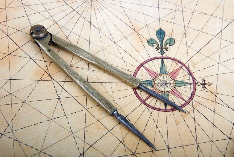 dividers mapa zdjęcia royalty free
